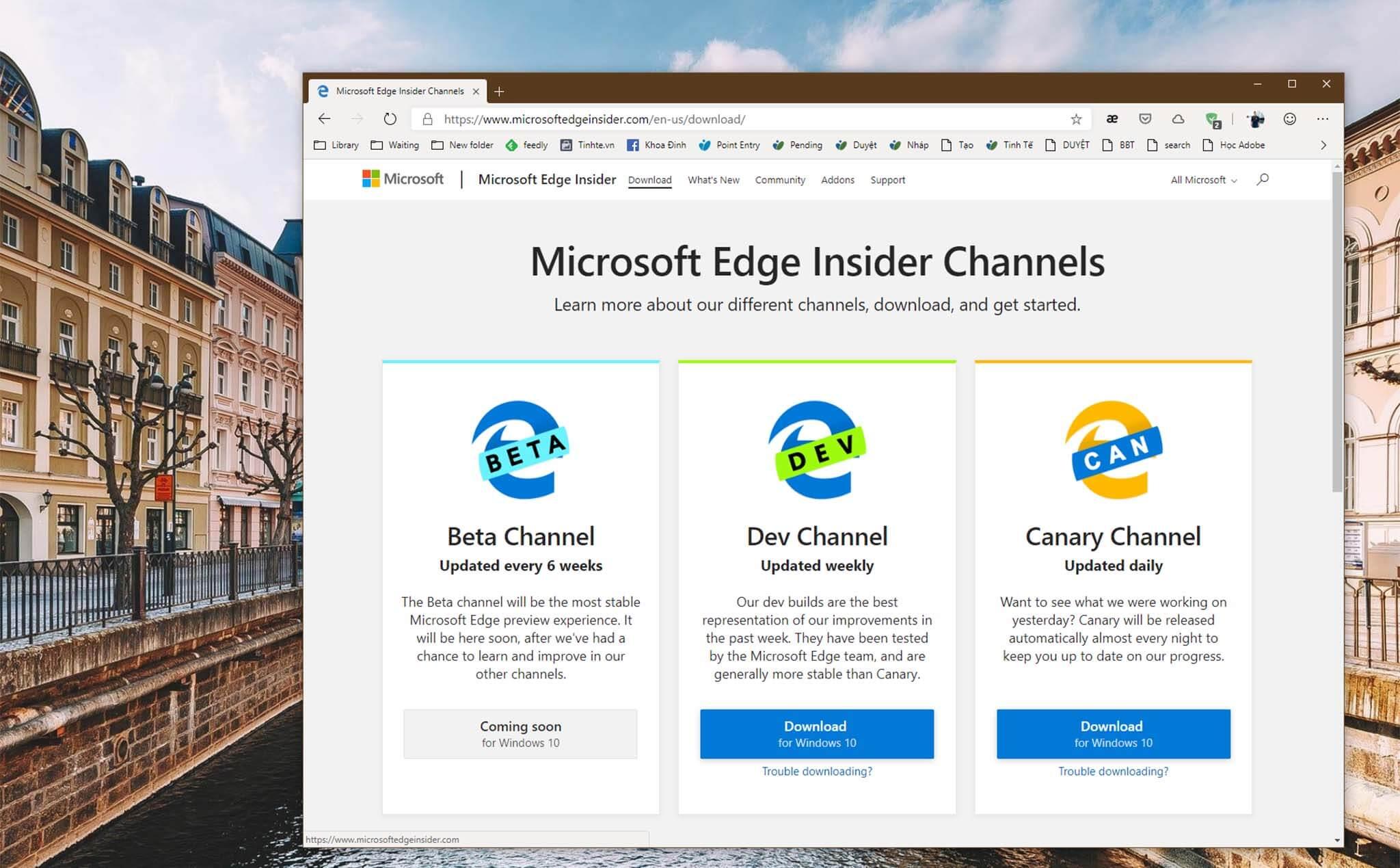 Tìm hiểu về  Microsoft Edge phiên bản mới