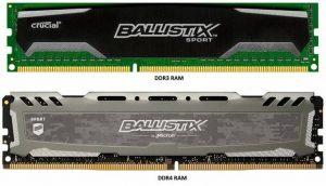 Sự khác biệt giữa DDR3 và DDR4